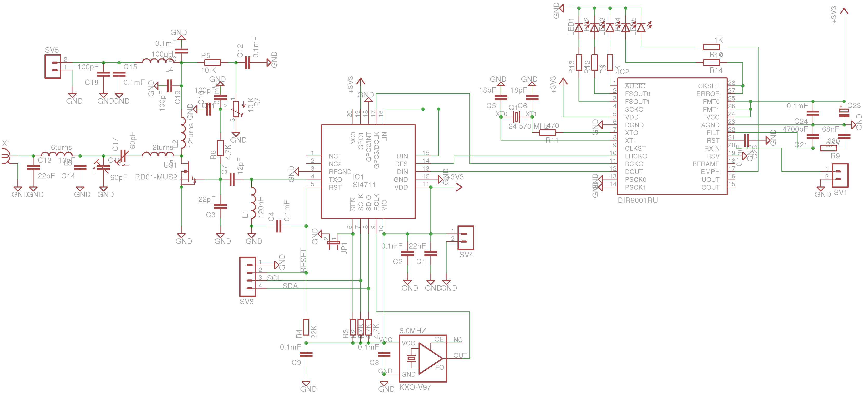 Fm Radio Transmitter Circuit Diagram Question About Wiring Range As Well Si471x I2c Control Application Tipok Org Ua Kit Schematic Simple